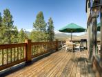 Silverview at Highlands Deck Breckenrige Luxury Lodging
