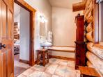 Swan River Lodge Main Level Master Bath Breckenridge Lodging
