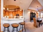 White Wolf Townhome Kitchen Breckenridge Luxury Lodging