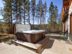 Swan River Lodge Hot Tub Deck Breckenridge Vacation Home Rentals
