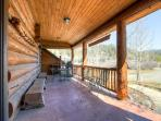 Swan River Lodge Front Porch Breckenridge Vacation Home Rentals