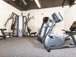 Workout Room, available to all our guests.