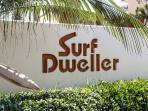 Surf Dweller Sign