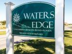 Waters Edge Condominiums welcomes you!!
