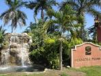 Entrance to Hermosa Palms residential community
