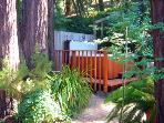 Fairy Circle Cottage, Spa in a Garden Setting, Redwoods