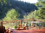 La Rive Gauche, Back Deck with Russian River Views