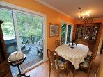 La Rive Gauche, Dining Room, Dog Friendly Russian River Home
