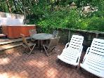 Fairy Circle Cottage, Patio with Gas Grill