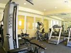 Fitness center for the workout!