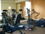 Club house Gym for that Morning Work Out