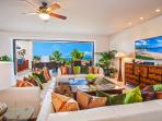 Blue Horizons K308 - Ocean View Great Room with Indoor Dining for Eight, Large HDTV, HD Cable, DVD/CD, Sofa Seating for...