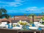J305 Aqua Lani High-Floor Ocean View 3 Bedroom 3 Bath Ultra-Lux Residential Vacation Villa - Covered Ocean View Terrace...
