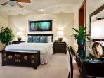 G102 Floral Gardens Master Bedroom Suite with Direct Garden Access, Plunge Pool, Desk, Italian Leather Chair and...