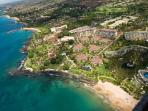 A View from the Sky above Wailea Beach Villas