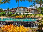 A View Towards Wailea Beach Villas Building A from Wailea Beach