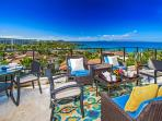 A View of Wailea Beach and Resort Taken From the Top Floor Regal Mandalay M511 - Panoramic Pacific Ocean, Sunset, and...