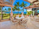 A201 Set Directly Above Wailea Beach with Panoramic Ocean and Beach Views, Outdoor Dining, Viking Grill, Chaise Lounge...
