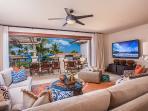 Bona-fide indoor and outdoor living at C301 Sun Splash Villa.