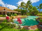 Sea Shells Beach House - Heated Lagoon Shape Pool with Lagoon Pool, Hot Tub, Ocean and Beach Front Setting