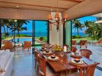 Wailea Sunset Estate - Indoor Dining for Eight and Outdoor Dining for Six with Ocean Front Views!