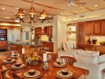 Wailea Sunset Estate - Indoor Dining For Eight and Outdoor Dining for Six with Ocean Front Views