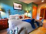 Huge Comfortable King Size Bed in Master