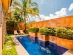 Beautiful private pool and yard
