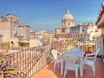 Beautiful Rome Apartment with Outdoor Patios and Views - Campo dei Fiori - Amerigo