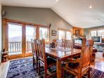 Huron Heights Retreat Dining Breckenridge Luxury Home Rentals