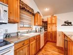 Huron Heights Retreat Kitchen Breckenridge Luxury Home Rentals