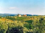Casa San Vito atop rolling Chianti hills