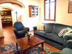 Casa San Vito Living Room looking towards kitchen