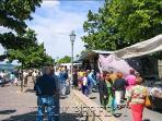 Farmer's market in San Casciano