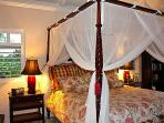 Romantic master king bed