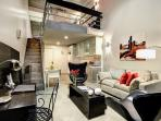 Modern Loft Bedroom with all the comforts of home
