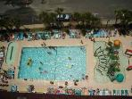 Outdoor Pool Area from Overhead