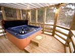 Hot Tub on Lower Screened Deck