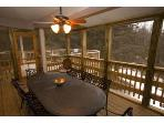 Screened Porch Adjacent to Octagon Deck