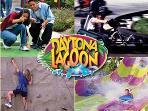 Swim, climb, ride, surf, waves, Daytona Lagoon has it all!