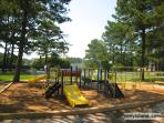 Chincoteague Island has a wonder playground, picnic, grills, piers in Memorial Park which kids love