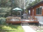 Enjoy the South facing Deck with natural gas barbecue