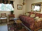 Master bedroom's daybed sleeps 2.