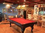 Guest Great room bar & gameroom.