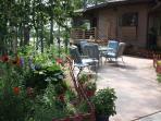 Courtyard  and elegant seating.
