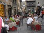 main street in Cortona