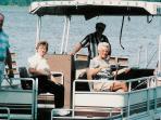 1970 pontoon rental $180 per day