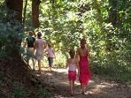 Manuel Antonio National park is a 10-minute beach walk away.