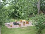 Firepit terrace & Grilling