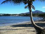 Cofresi Beach with Mt Isabel in the background